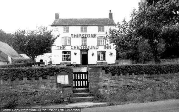 Burton On The Wolds, Greyhound Inn c.1960