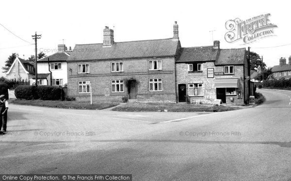 Burton On The Wolds, The Post Office And Square c.1960
