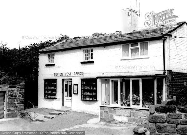 Photo of Burton, Post Office c1965