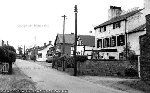 Burton, The Village c.1955