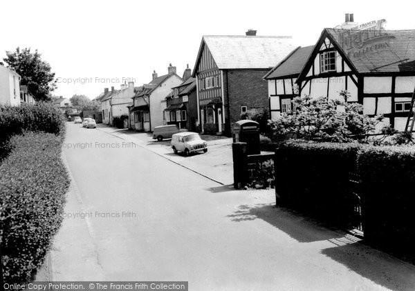 Burton, The Village c.1965