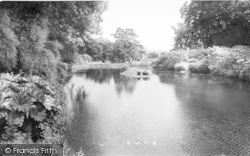 Burton Upon Stather, Normanby Hall, Water Gardens c.1965