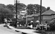 Burton Upon Stather, Normanby Road Petrol Station c.1955