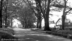 Burton Upon Stather, The Avenue c.1955