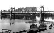Burton Upon Trent, Ferry Bridge c.1960