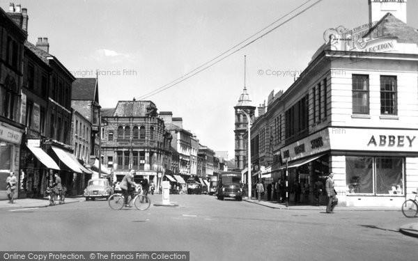 Burton Upon Trent, High Street c.1965