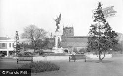 Burton Upon Trent, Memorial Gardens c.1965