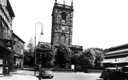 Burton Upon Trent, St Modwen's Church c.1955
