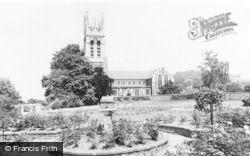 Burton Upon Trent, Stapenhill Church c.1960