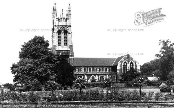 Burton Upon Trent, Stapenhill Church c.1965