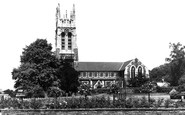 Burton Upon Trent, Stapenhill Church c.1965