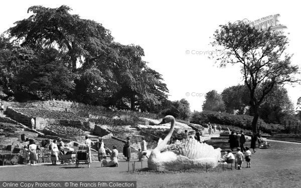 Photo of Burton upon Trent, Stapenhill Gardens 1961