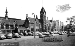 Burton Upon Trent, The Town Hall c.1960