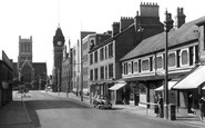 Burton Upon Trent, The Town Hall c.1965