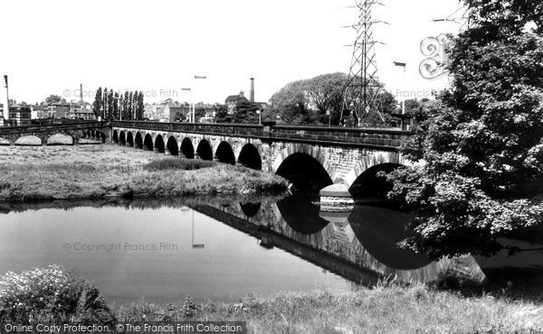 Burton Upon Trent, Trent Bridge c.1960