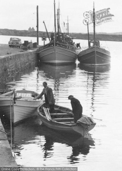 Photo of Burtonport, The Quayside c.1955
