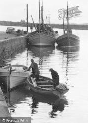 Burtonport, The Quayside c.1955