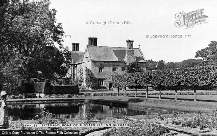 Photo of Burwash, Bateman's, Home Of Rudyard Kipling c.1960