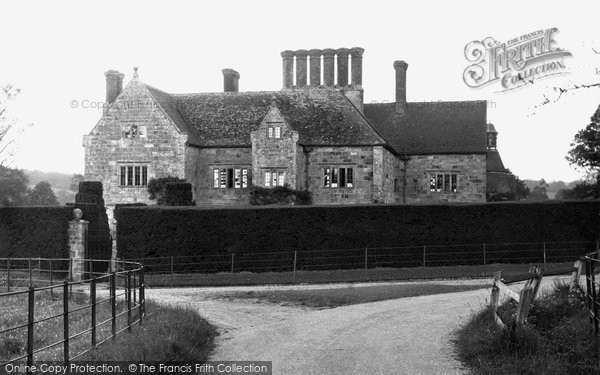 Photo of Burwash, Bateman's, Rudyard Kipling's House c.1955