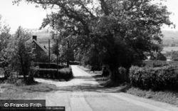 General View From School Lane c.1960, Burwash