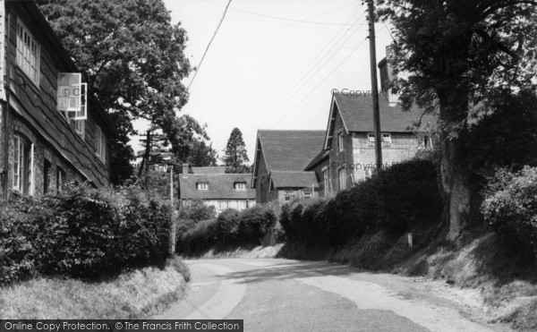 Photo of Burwash, School Lane c.1960