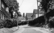 Burwash, School Lane c.1960