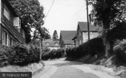 Burwash, School Lane c.1960