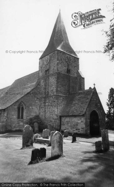 Photo of Burwash, St Bartholomew's Church c.1960