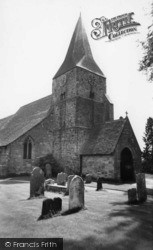 Burwash, St Bartholomew's Church c.1960