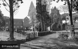 St Joseph's Catholic Church c.1960, Burwash