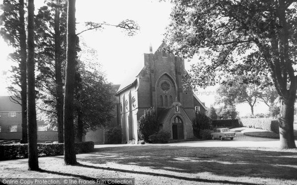 Photo of Burwash, St Joseph's Catholic Church c.1960