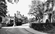 Burwash, The Memorial c.1960