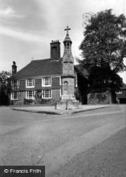 Burwash, The Memorial c.1960