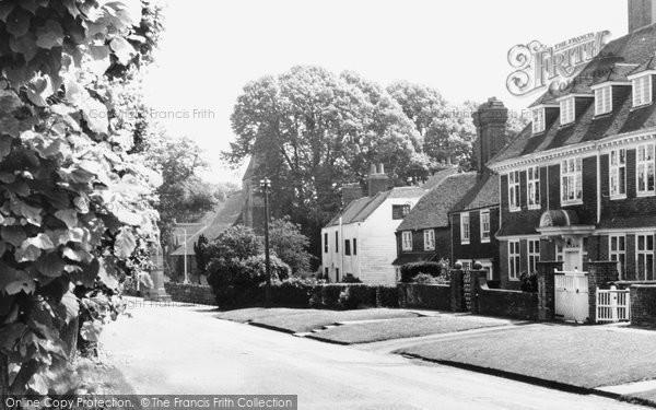 Photo of Burwash, The Village c.1960