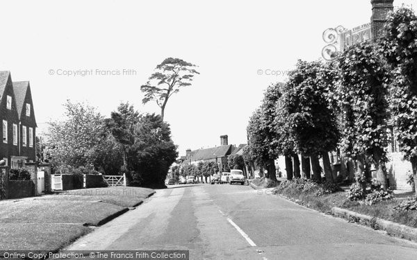 Burwash, The Village c.1960