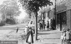 Burwash, Villagers 1889