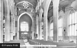 Burwell, Church Interior c.1955