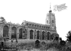 Burwell, St Mary's Church c.1955
