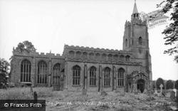 St Mary's Church c.1955, Burwell