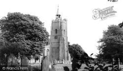 Burwell, St Mary's  Church c.1960