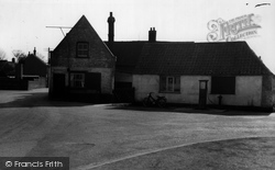 Burwell, The Old Village Pump c.1955