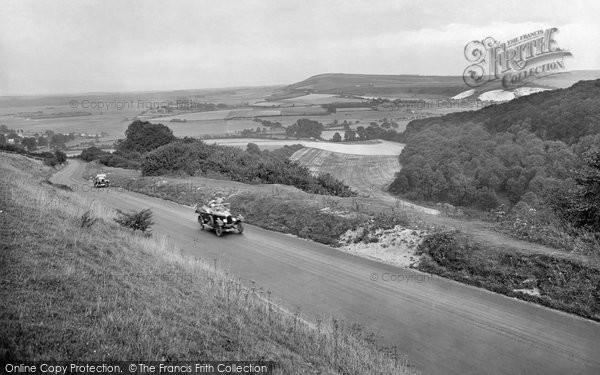 Photo of Bury, Bury Hill 1928
