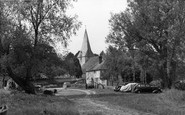 Bury, Church Of St John c.1955