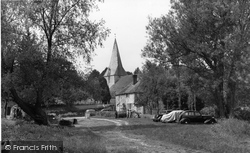 Bury, Church Of St John c.1955