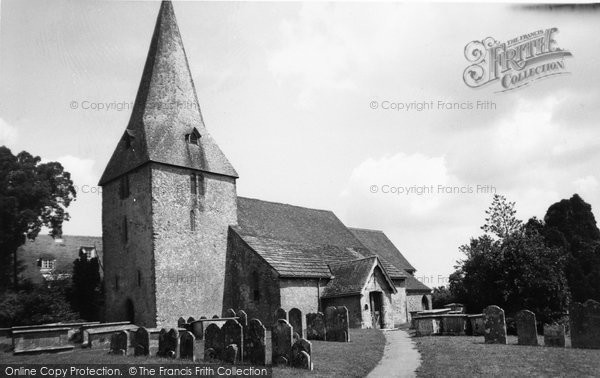 Photo of Bury, Church Of St John c.1955