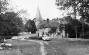 Bury, Church Of St John From The River Arun c.1960