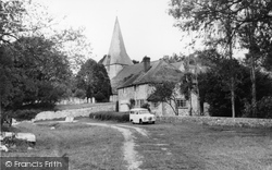 Bury, Church Of St John From The River Arun c.1960