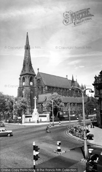Bury, Church Of St Mary The Virgin c.1955