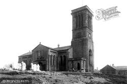 Elton, All Saints' Church 1895, Bury