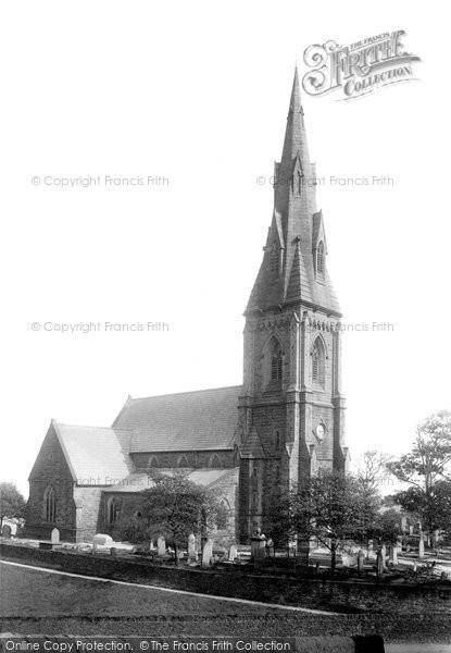 Bury, Holcombe Church 1896